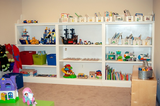 shelving in the classroom