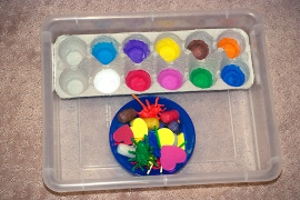 color matching tray