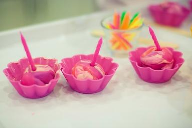 play dough cupcakes!