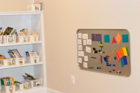 Our new magnetic wall is finished!