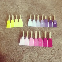 matching color paint chips