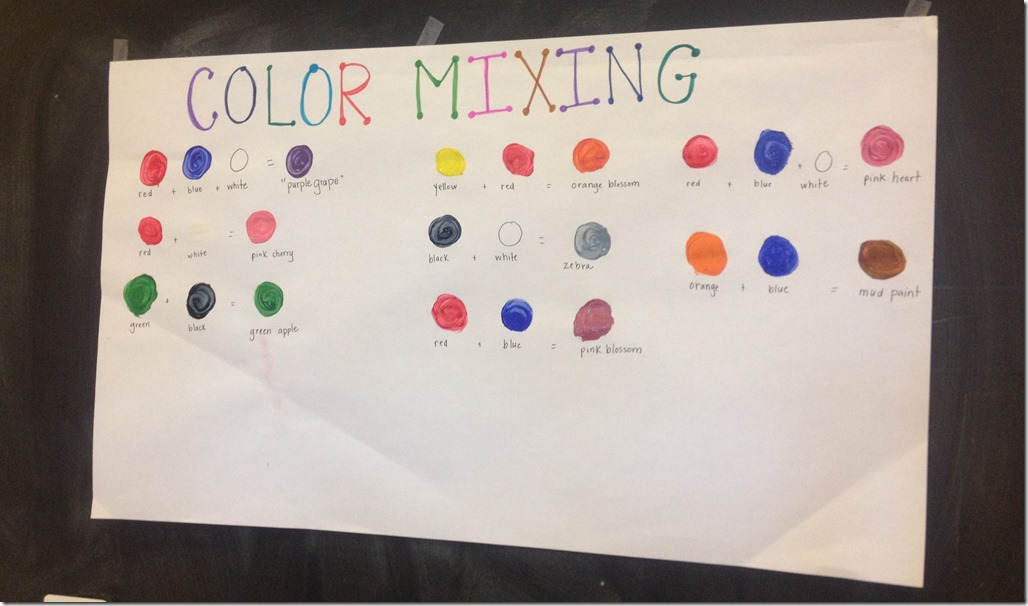 What Colors Make Red exploring colors | crozet play school