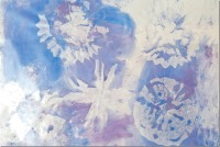 Wintry snowflake art