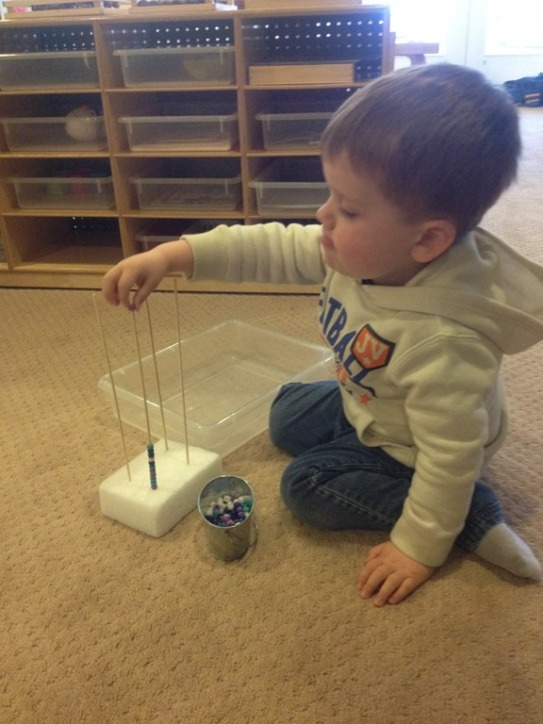 D is working hard to build his tower