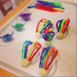clay rainbows