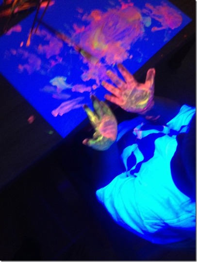 glowing paints