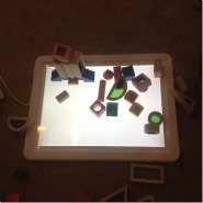 light and sensory exploration