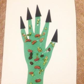 monster hands!