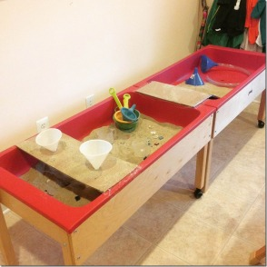 classroom environment is constantly changing and evolving. Multi-level sand area