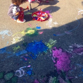 bringing art outdoors!