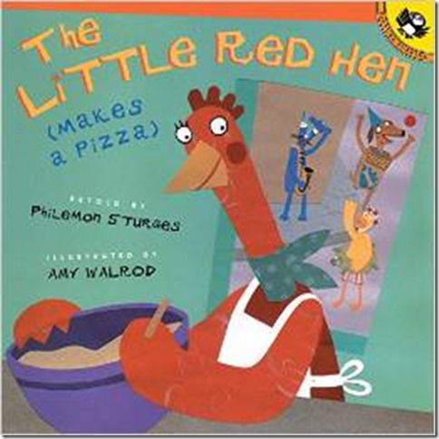 little red hen pizza