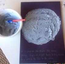 moon paintings!