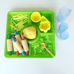 lemonade play dough pretend play