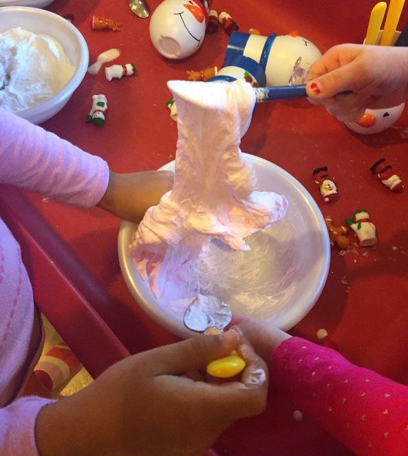 winter sticky dough
