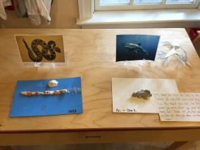 snake clay work