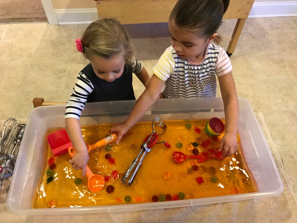 "playing ""pumpkin soup"""